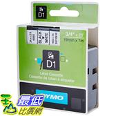 [美國直購] DYMO 45803 Standard D1 Self-Adhesive Polyester Tape for Label Makers 3/4 inch x 23 標籤紙