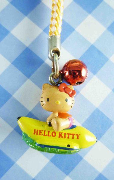 【震撼精品百貨】Hello Kitty 凱蒂貓~限定版手機吊飾-香蕉