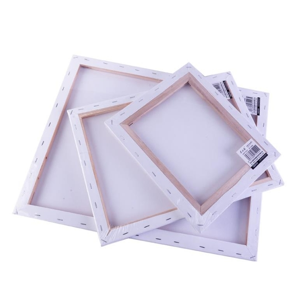 油畫顏料 空白油畫框油畫布亞麻手繪布面油畫板初學者材料成品油畫顏料布框丙烯