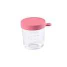 BEABA 玻璃儲存罐-250ml 深粉紅[衛立兒生活館]