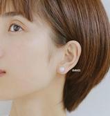 925純銀珍珠耳環