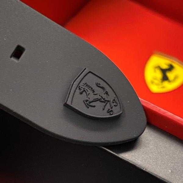 星晴錶業-FERRARI法拉利男錶,編號FE00020,46mm黑錶殼,深黑色錶帶款