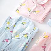 月子服   純棉紗布產后喂奶薄款哺乳期全棉吸汗透氣寬松超薄