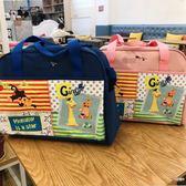 朱莉家 卡通大容量媽咪包可愛母嬰包中號手拎包斜挎包待產包