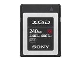 SONY XQD 記憶卡 240GB (QD-G240F) 讀 440MB/s 寫 400MB/s 【台灣索尼公司貨】