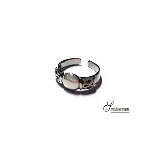 SilverTown銀鎮 個性純銀戒指