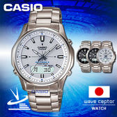 CASIO 卡西歐 手錶 專賣店   LCW-M100TD-7AJF 男錶 電波錶 日系 鈦金屬錶帶 黑面 太陽能 電波