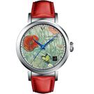 梵谷Van Gogh Swiss Watch梵谷經典名畫男錶 I-SLMB-12 標誌紅花蝴蝶