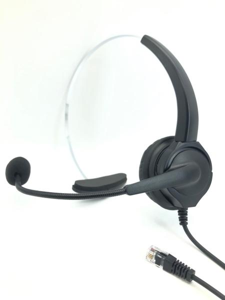 單耳電話耳機麥克風含靜音調音鍵 880元 安立達電話耳機 CID70 DKP51W KP70 HEADSET PHONE 保固6個月
