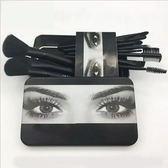 12支化妝刷子套裝初學者 鐵盒便攜式可愛化妝刷子 瑪麗蓮安