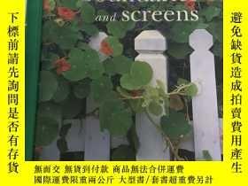 二手書博民逛書店Creating罕見Boundaries and Screens (Gardening Workbooks)Y