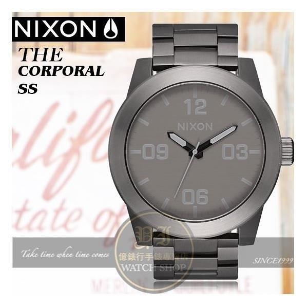 【南紡購物中心】NIXON實體店The Corporal 型男腕錶A346-2090公司貨