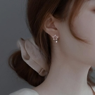 耳環 925純銀耳釘女2021耳環2021年新款潮氣質小眾設計感高級耳墜耳飾 晶彩 99免運