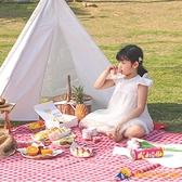 野餐墊戶外防潮墊郊游地墊野餐布草坪野炊墊【勇敢者戶外】