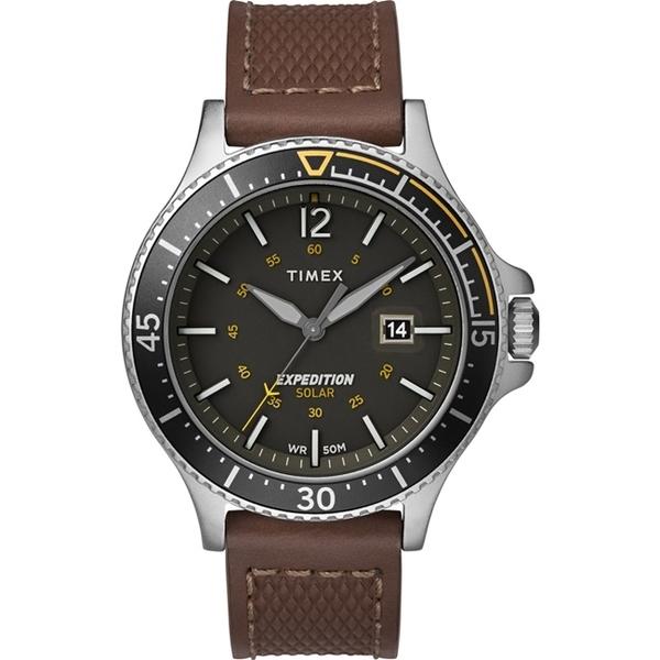 【TIMEX】 天美時 遠征系列 太陽能探險手錶 (咖啡/深灰TXTW4B15100)