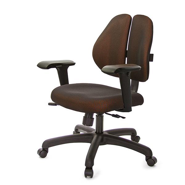 GXG 人體工學 雙背椅 (4D升降扶手) 型號2991 E3