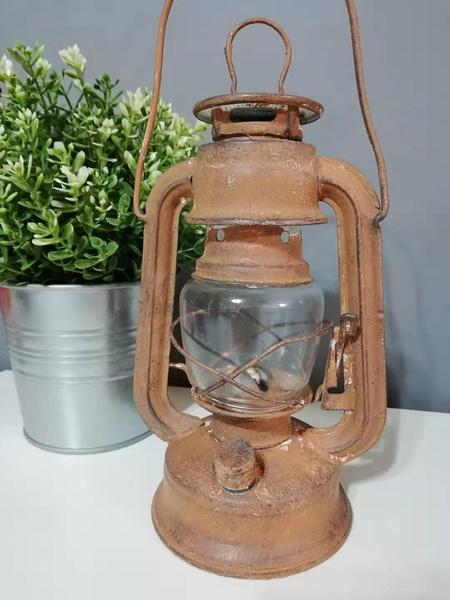 【現貨】復古油燈 LOFT風 LED-1W電子仿舊油燈 露營燈【燈巢1+1】16043219