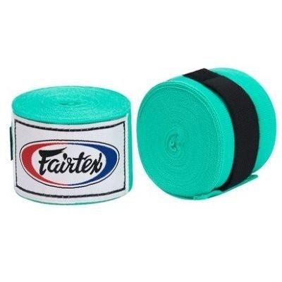 『VENUM旗艦館』Fairtex 泰拳 拳擊手綁帶 BOXING Hand Wraps 手綁帶3M 微彈性 - 淺藍色