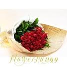 經典紅玫瑰 愛很簡單--情人花束.生日花束.聖誕花束