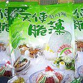 寒天脆藻麵