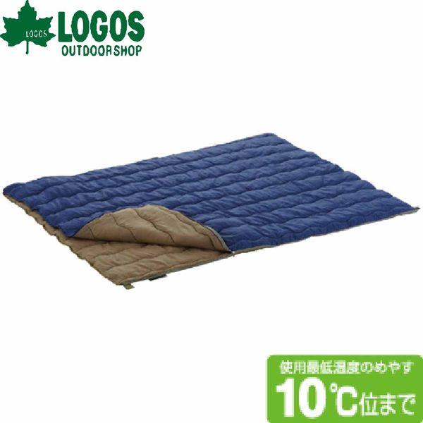 LOGOS日本10度2合一丸洗化纖睡袋