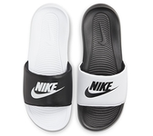 NIKE系列-VICTORI ONE SLIDE MIX 男款黑白色涼拖鞋-NO.DD0234100