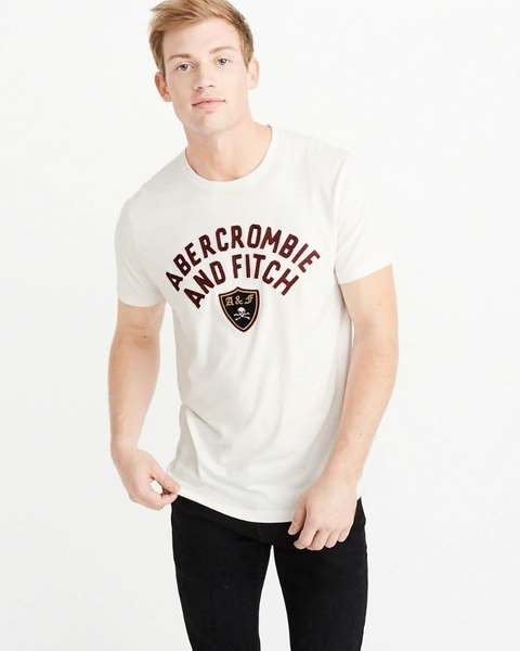 AF Abercrombie & Fitch A&F A & F 男 T-SHIRT R967