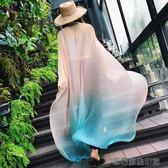 披肩棉麻圍巾長款亞麻紗巾沙灘巾 易樂購生活館
