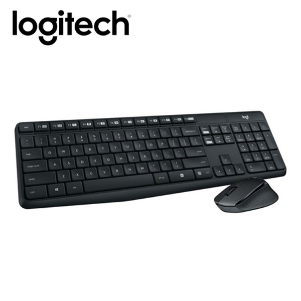 【Logitech 羅技】MK315 無線靜音鍵盤滑鼠組 【贈純水柔濕巾】