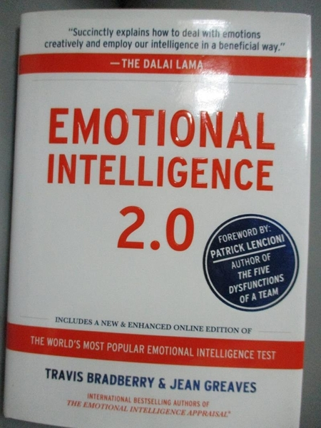 【書寶二手書T2/心理_IIA】Emotional Intelligence 2.0_Bradberry