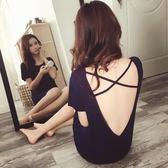 性感睡衣女夏莫代爾夏季薄款胖MM寬鬆火辣成人純棉情趣可外穿睡裙