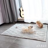 寵物墊子窩地墊板狗籠用品夏天四季不粘毛防潮保暖耐咬 BF3609『寶貝兒童裝』
