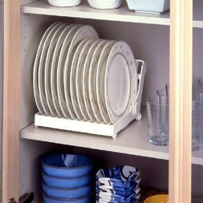 餐具置物架 瀝水架杯碟收納【藍星居家】