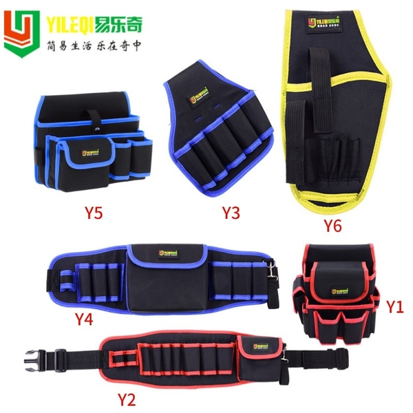【優質牛津布 】Y6 工作腰帶 工具腰帶 工具包 工具箱 電工 腰包 鉗袋 電工腰包 工具腰包 五金