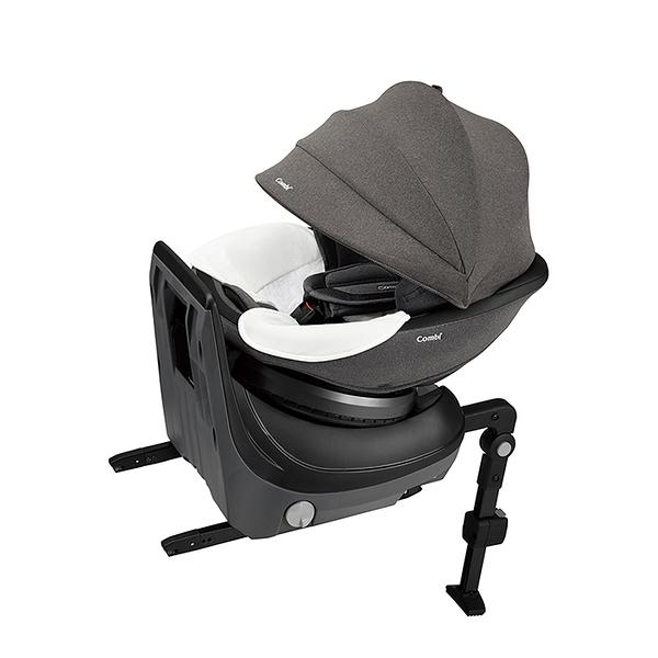 【愛吾兒】Combi 康貝 CULMOVE Smart 0-4歲 安全汽車座椅-紳色灰
