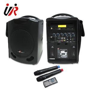 UR SOUND  PU302D  雙頻DVD/SD/USB無線手提擴音機