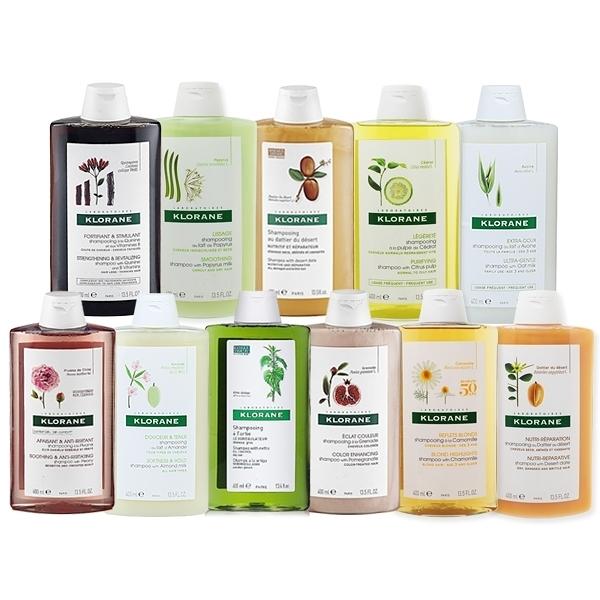 法國蔻蘿蘭KLORANE 植物洗髮精(400ml)款式可選【小三美日】