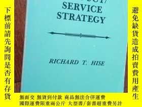 二手書博民逛書店【罕見】PRODUCT SERVICE STRATEGY(344