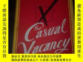 二手書博民逛書店J.K.ROWLING罕見the casual vacancy