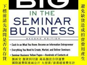 二手書博民逛書店How罕見To Make It Big In The Seminar BusinessY307751 Paul