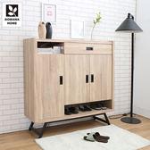 ♥多瓦娜【日式工業】瑞克4尺鞋櫃-二色-18048