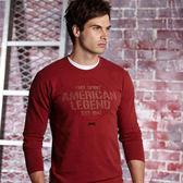 【JEEP】純棉造型T恤(紅色)
