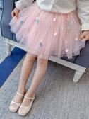女童半身裙新款洋氣兒童百搭短裙蓬蓬裙小女孩夏天 洛小仙女鞋