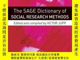 二手書博民逛書店The罕見Sage Dictionary Of Social Research Methods-社會研究方法聖人詞