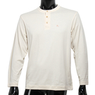 BURBERRY 紳士透氣排汗棉質上衣(米白色)085204-1