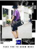 袋鼠旅行包男出差手提包女大容量旅游包簡約行李包袋防水健身包潮   東川崎町   東川崎町