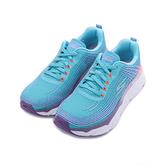 SKECHERS 慢跑系列 GO RUN MAX CUSHIONING ELITE 綁帶運動鞋 藍紫 17693NVLV 女鞋