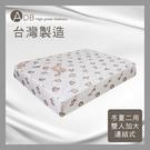 【多瓦娜】ADB-妮可兒冬夏二用連結式床墊/雙人加大6尺-150-08-C
