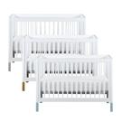 【粉/原木預計5月底到貨】LEVANA Mini Color三合一嬰兒成長床(單床)3色可選