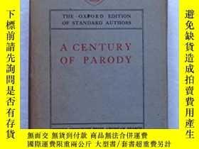二手書博民逛書店古籍,A罕見Century of Parody and Imitation,約1913年出版,精裝Y35191
